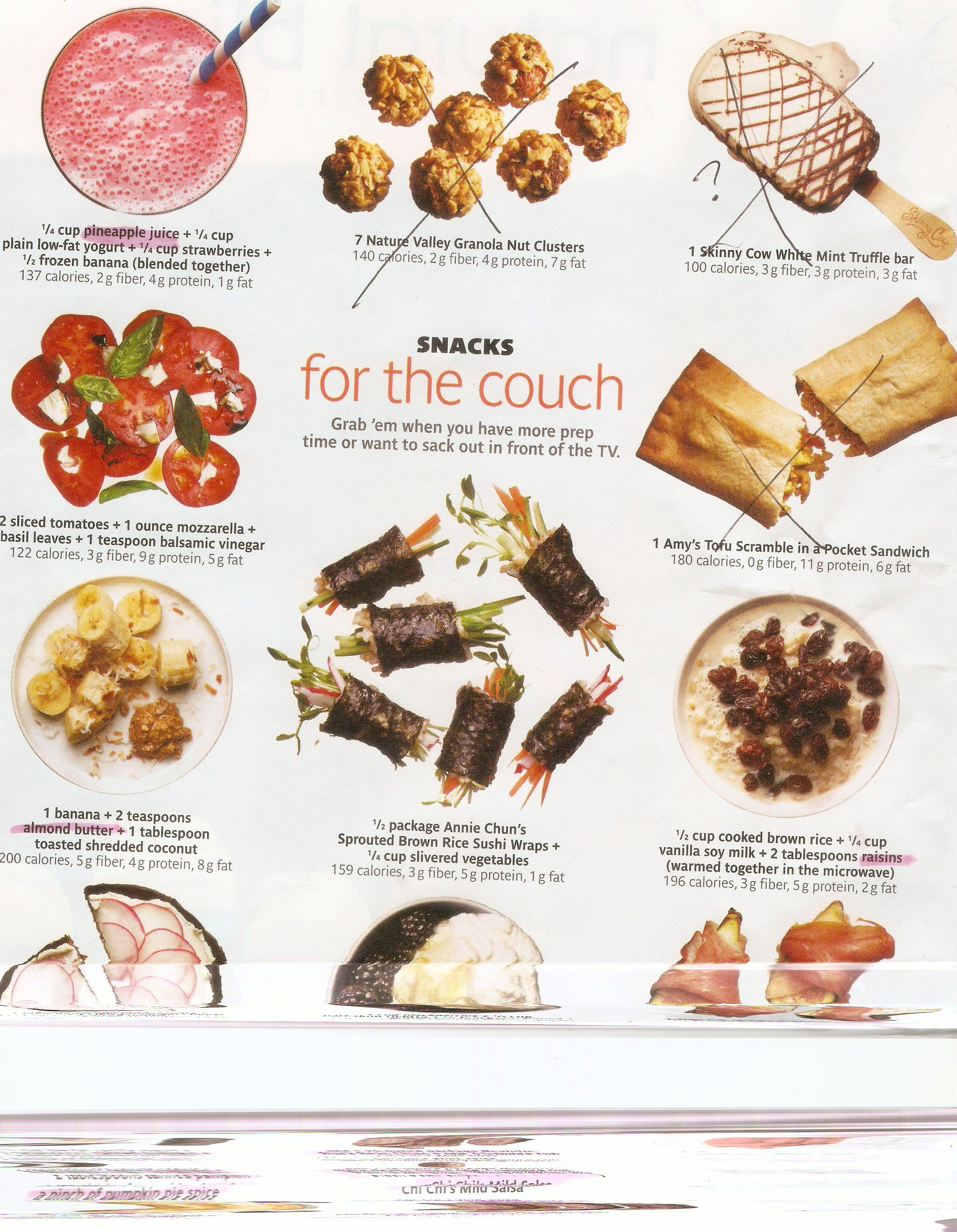Healthy Snacks And Desserts