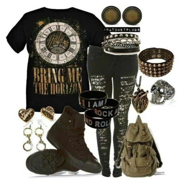 """""""BMTH outfit"""" by rosebiggs on Polyvore"""