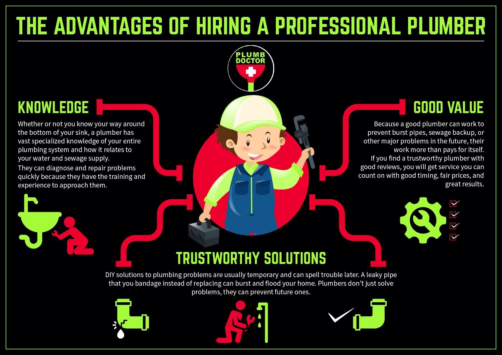 Next Time You Have A Plumbing Crisis, Should You DIY The Job Or Hire A  Professional Plumber To Tackle It? There Are Many Advantages To Hiring A  Pro That ...