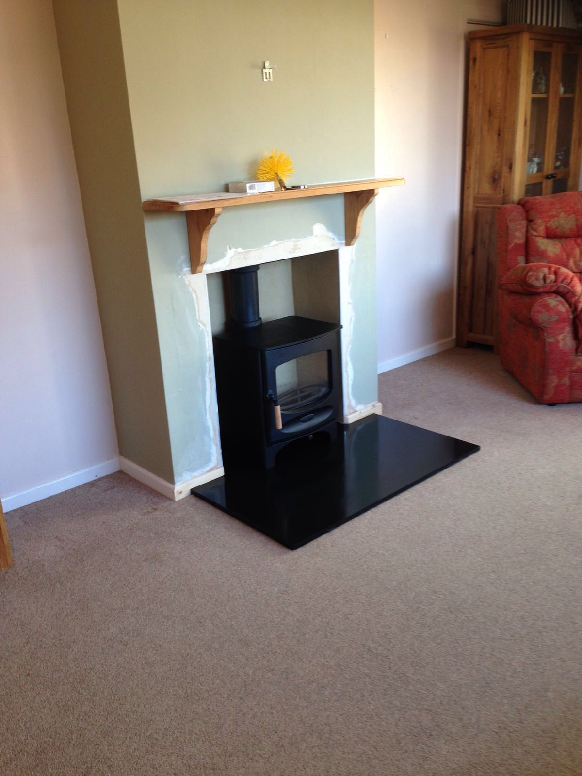 charnwood c5 on smart granite hearth installed by one of six teams