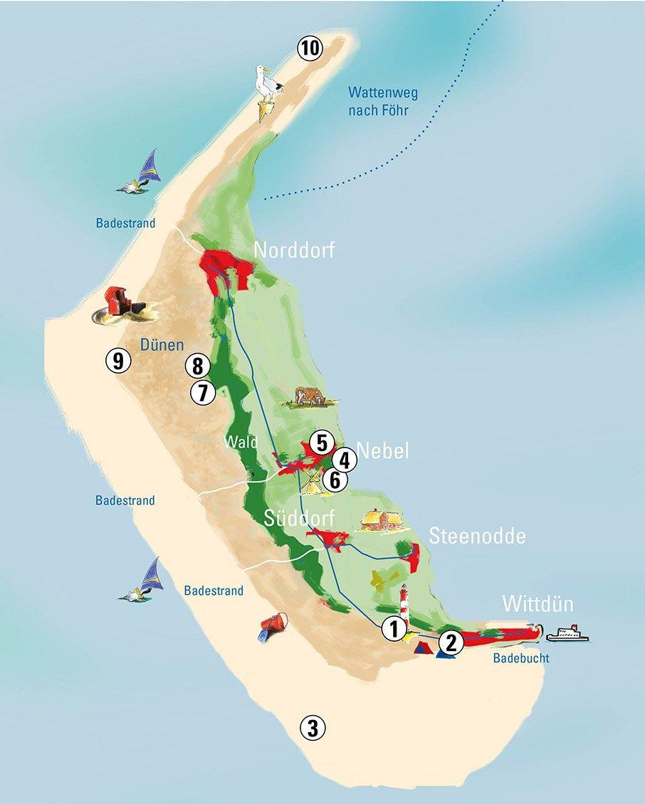 Die Nordseeinsel Amrum Ist Das Perfekt Urlaubsziel Mit