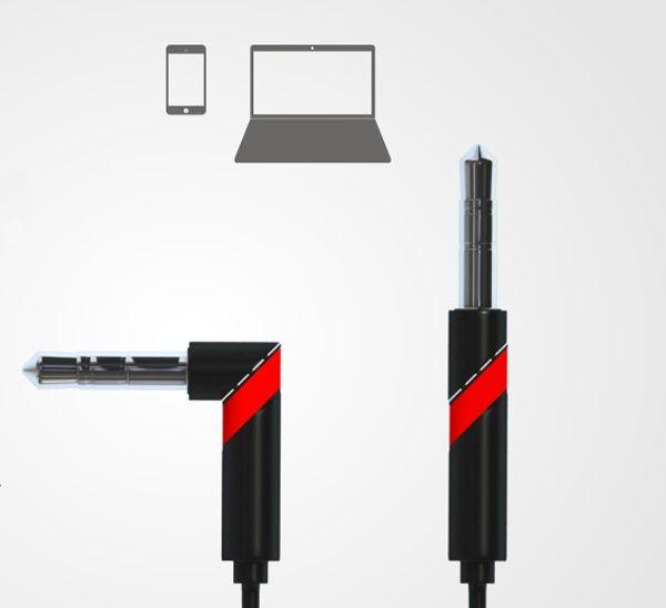 이어폰 일자형 - L자형 전환, 90socket.