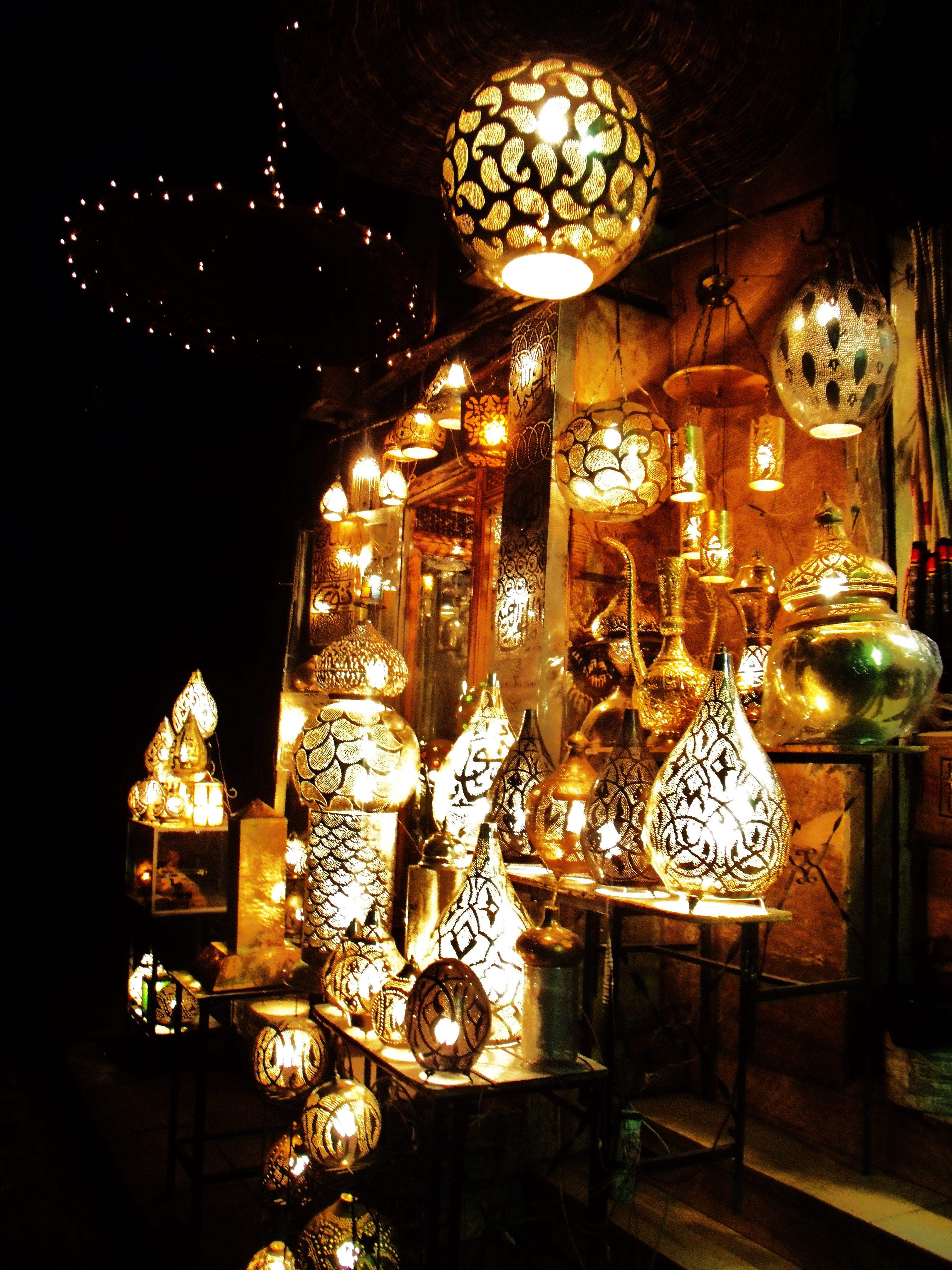 Egyptian Lanterns Khan El Khalili Cairo Arabicstyle Egypt Souk Oriental Egyptian Lamps Rama Egyptian Lantern Ramadan Lantern Egypt Decorations