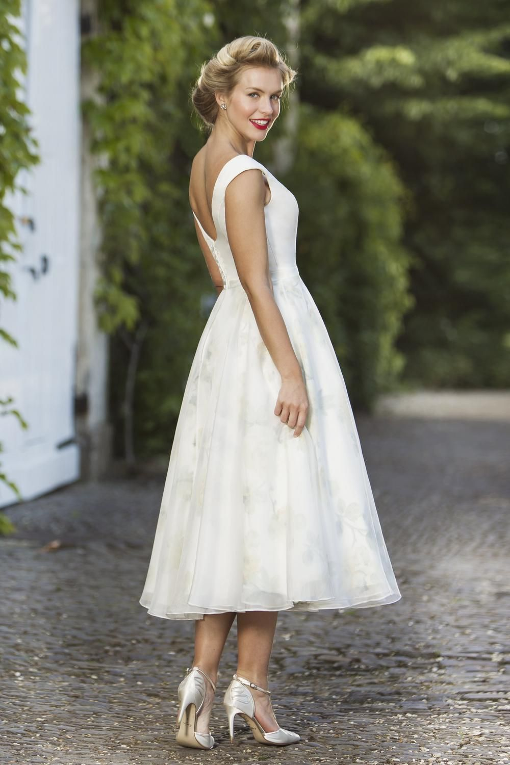 Tea length bridal and 50s style short wedding dresses brighton tea length bridal and 50s style short wedding dresses brighton belle cecilia true ombrellifo Image collections