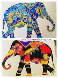 Animal Kingdom Colouring Book Hippo