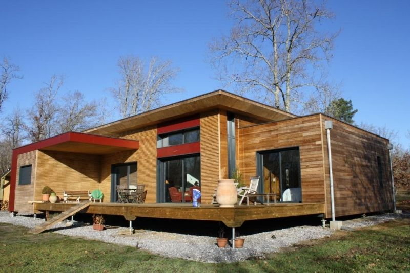 Maisons Individuelles - Maison Bois Vallery | Container@home ...