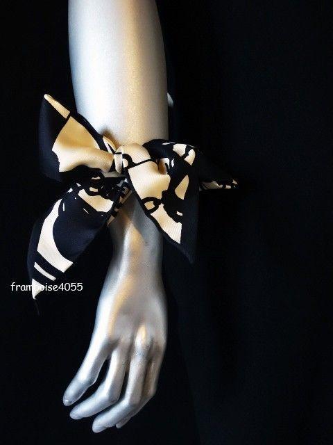 31b24d95e07 Hermes silk TWILLY scarf BRIDES DE GALA en DESORDRE foulard soie+boîte.