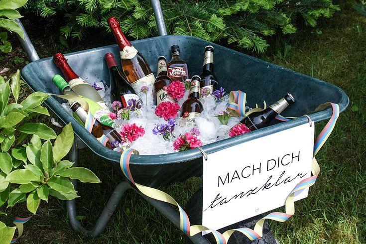 Gartenparty: Deko, Rezepte und mehr - WOHNKLAMOTTE #partyideen