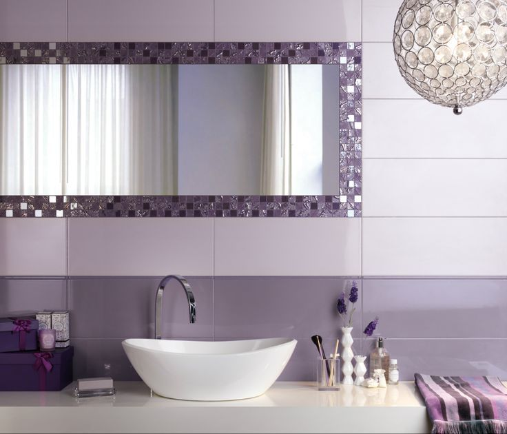 36 Purple Mosaic Bathroom Tiles Ideas And Pictures Bathroom