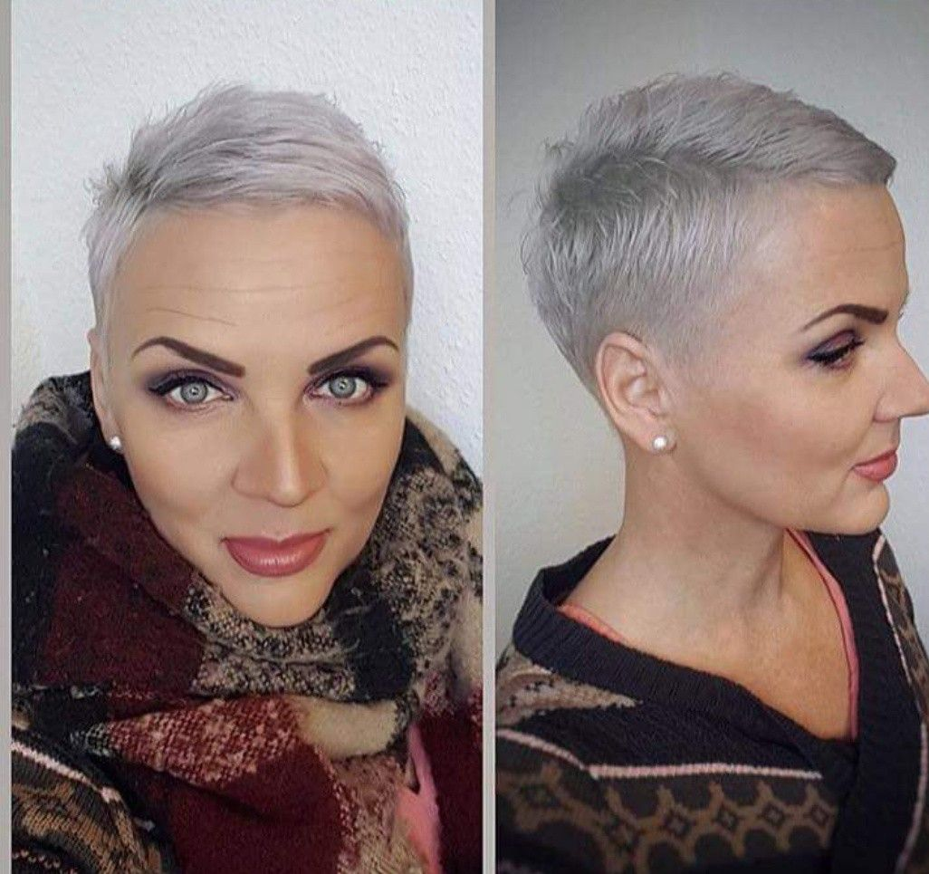 Pin by michele churcher on hair pinterest short hair pixies and