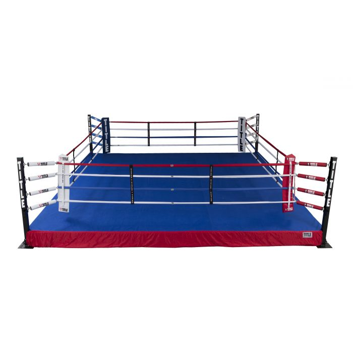 Title Lowboy Training Ring With Flooring Fight Gym Title Boxing Combat Training