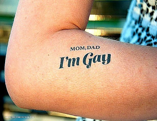 Gay tattos