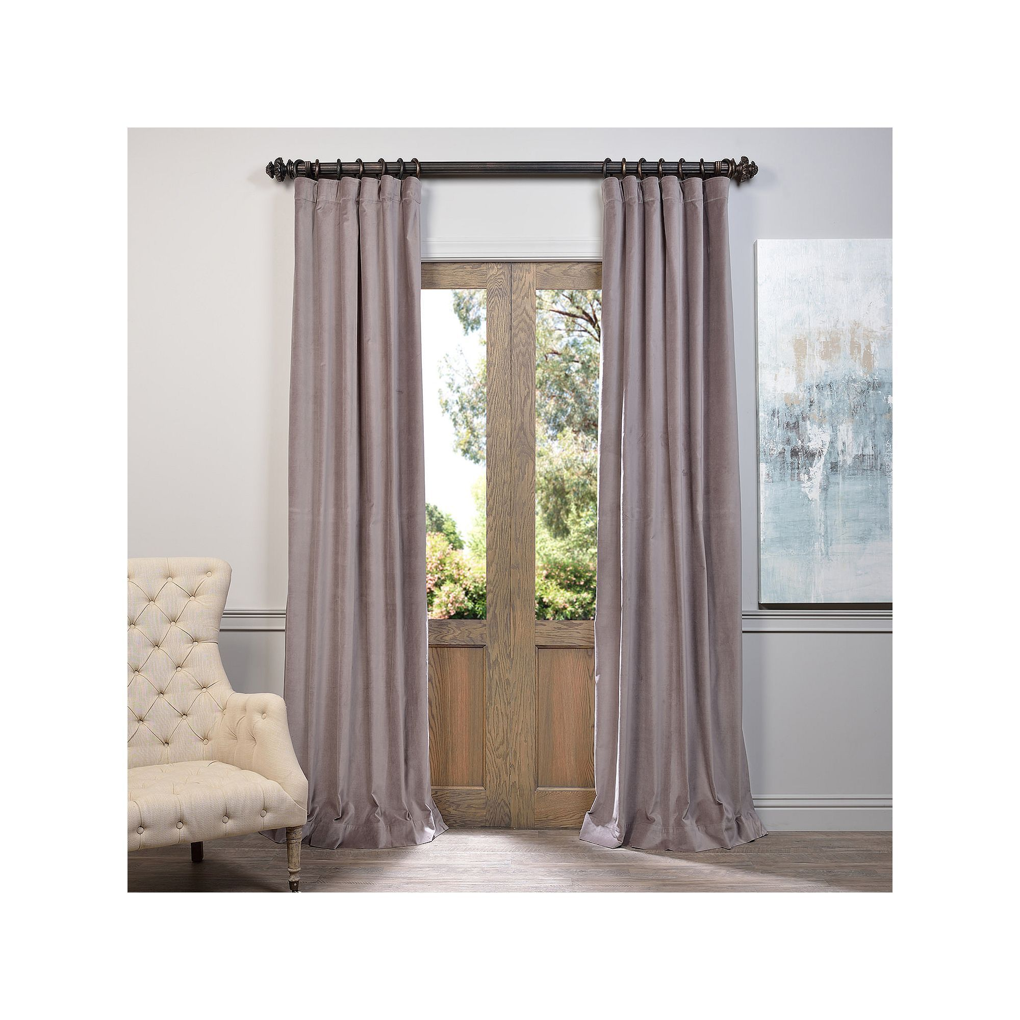 pottery band saw like drapes a you velvet perfection classic up in weekend inspiration kidding are them the amazing framed and last with barn an peyton drape img pink me that house crepe roll toile of