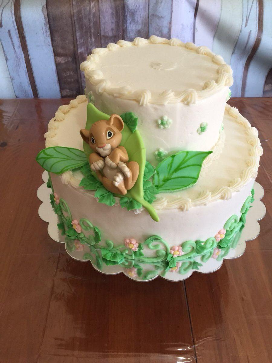 Cool Lion King Baby Shower Cake Greenville Sc Mysweetfavorites Funny Birthday Cards Online Kookostrdamsfinfo