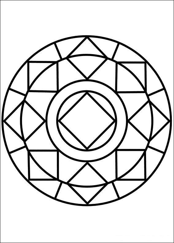 Mandala Coloring Worksheets | mandala | Pinterest | Mandalas ...