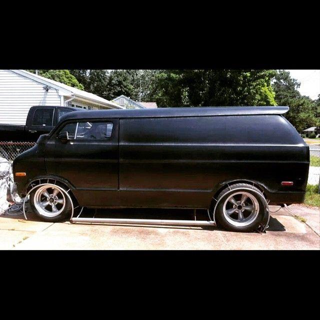 70's Custom Chopped Van in progress.