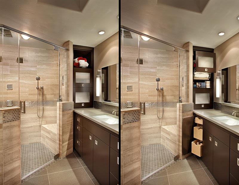 bathroom cabinet details