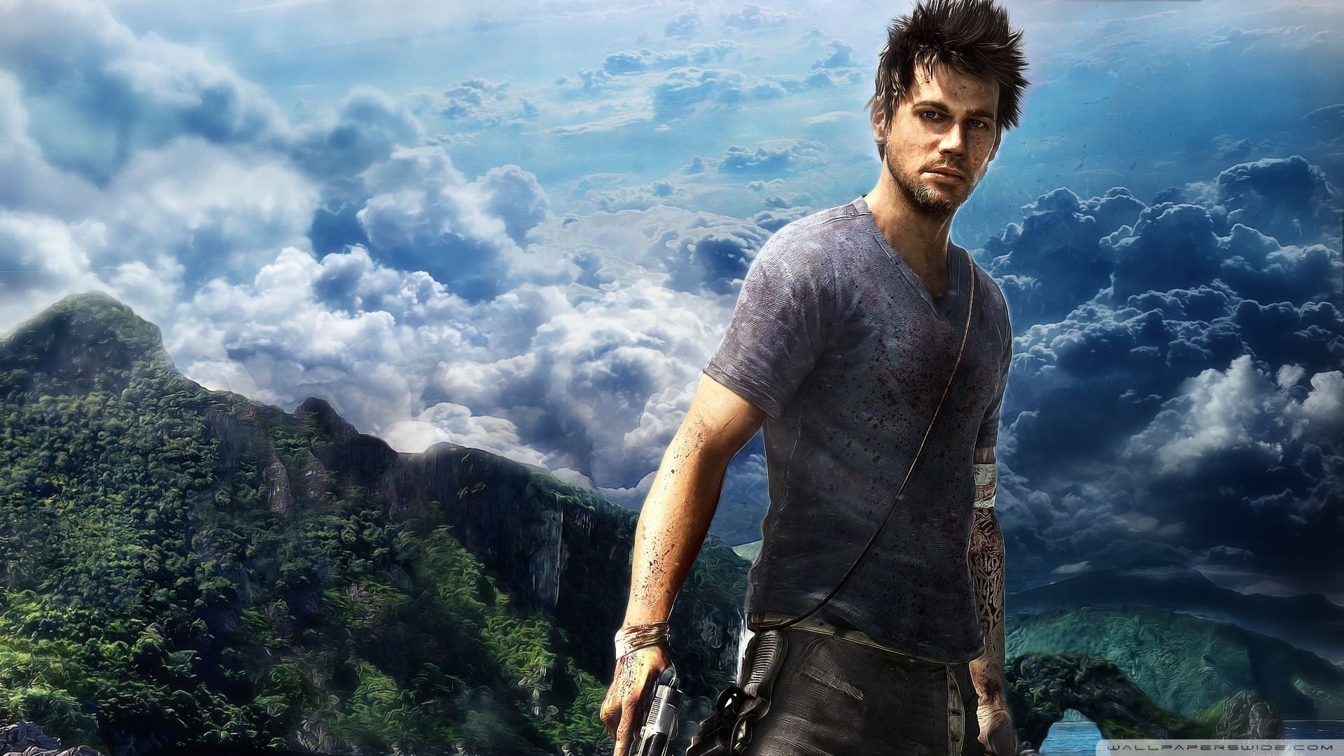 Video games Far Cry posters Far Cry screens wallpaper x