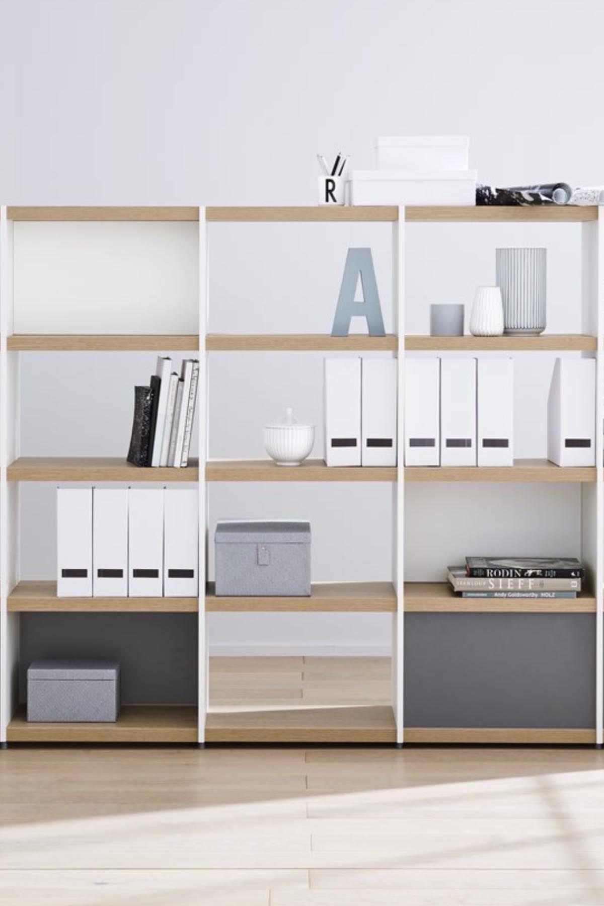 DIYomo u2013 create the bookshelf office shelf