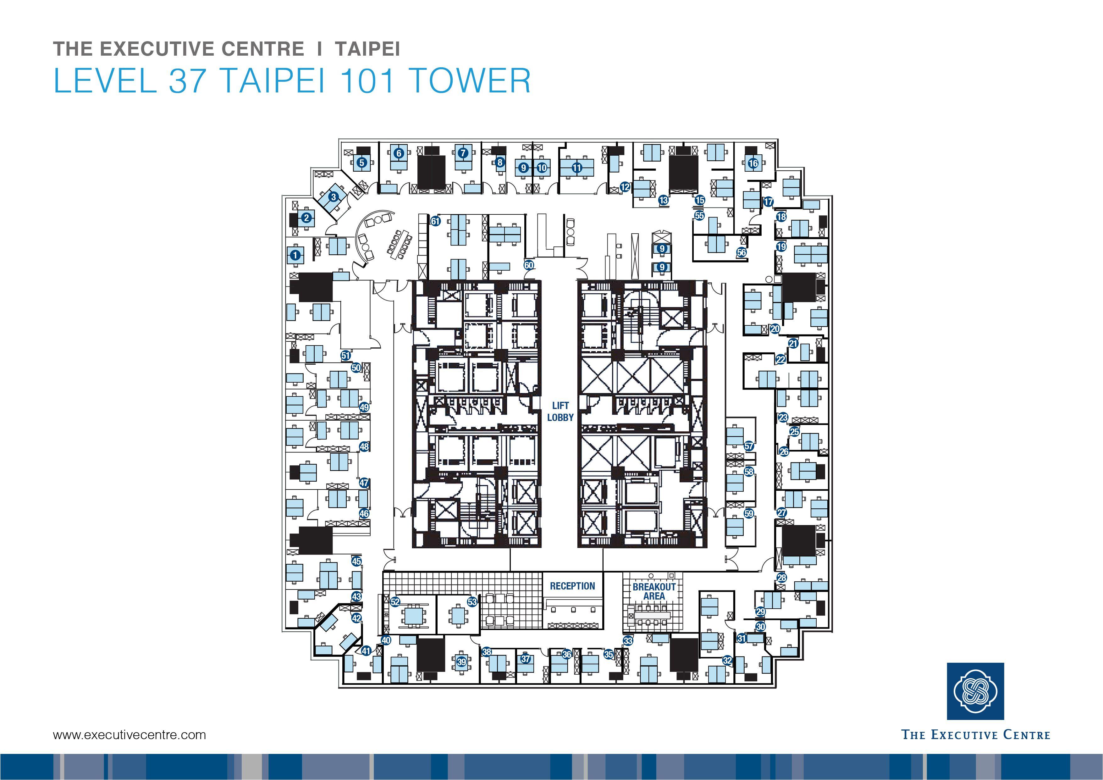 taipei 101 floor plan