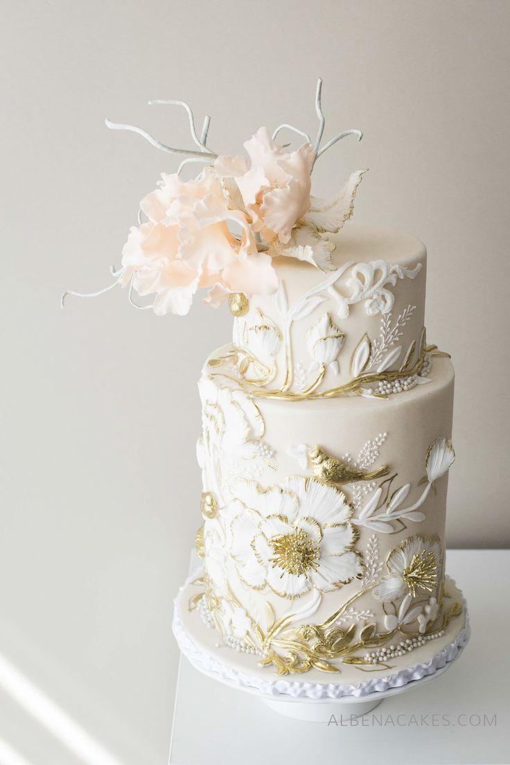 #5 Cake Inspired By Enchanted Garden | Mesas de torta de boda