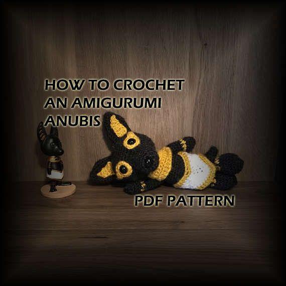How To Crochet Amigurumi Anubis Crochet Pattern Crochet Ancient