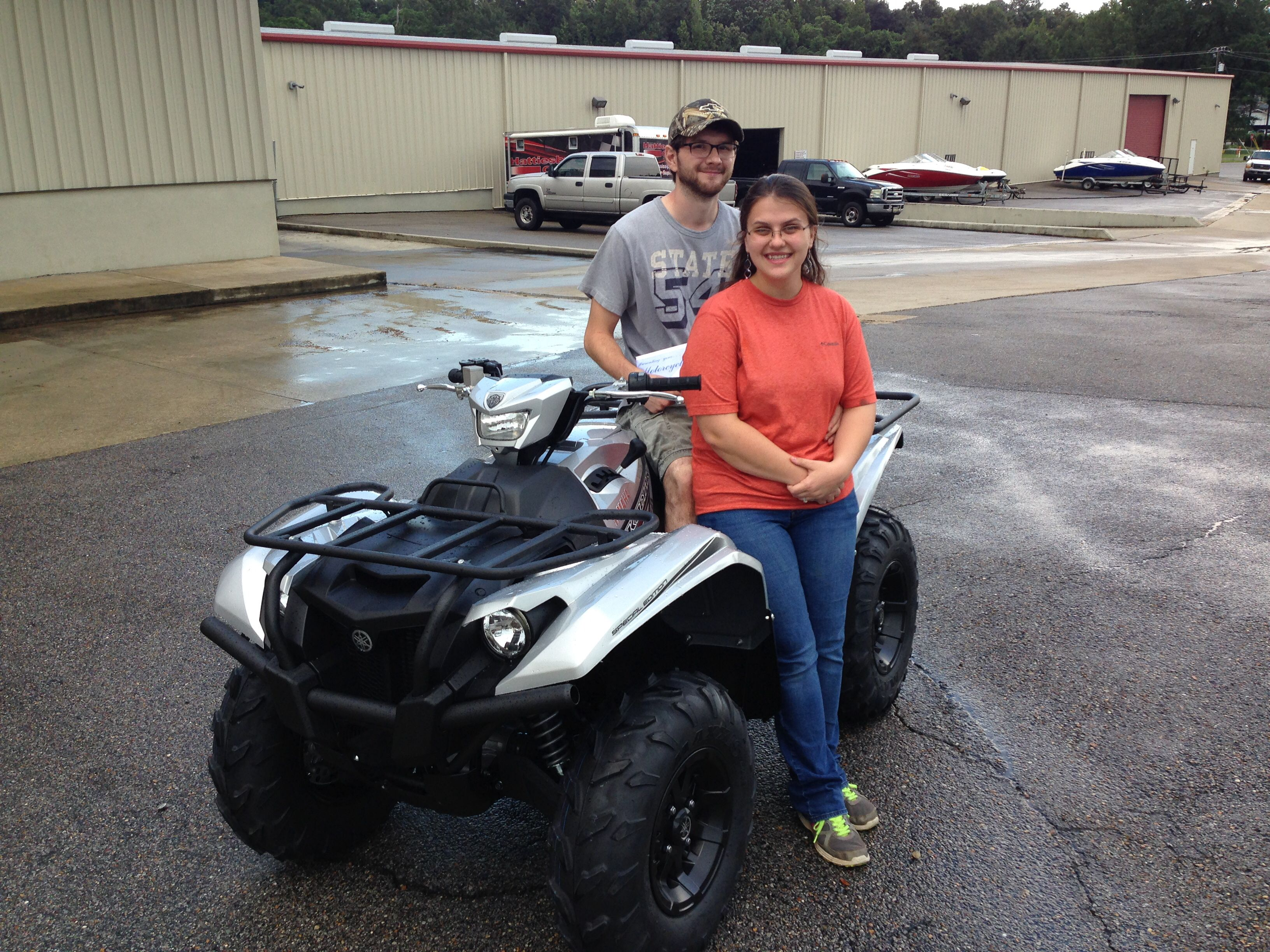 Thank you Jason and Michaela Stroud from Forest, MS for getting your