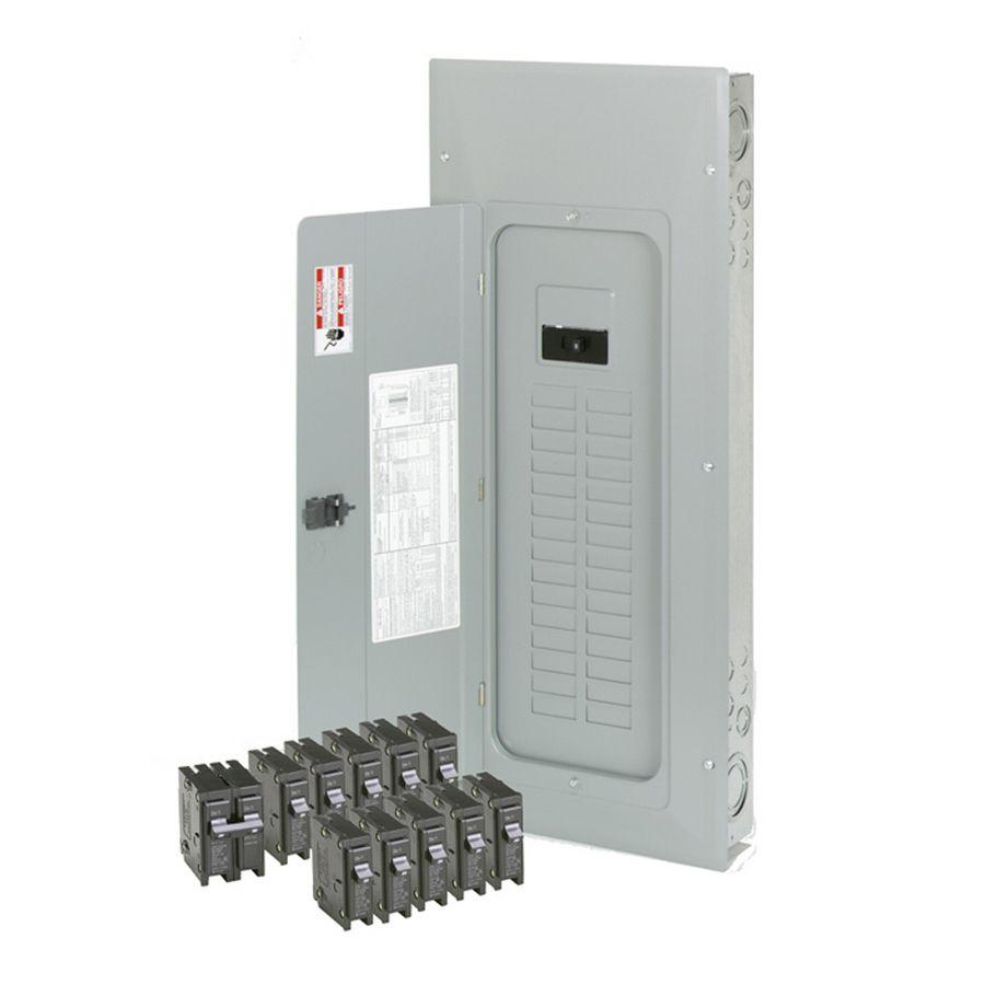 Eaton 30-Circuit 30-Space 150-Amp Main Breaker Load Center (Value ...