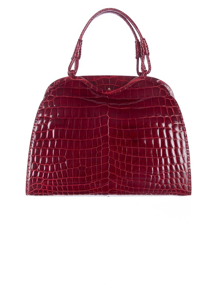 Bottega Veneta Alligator Handle Bag.   Designer Handbags   Pinterest ... a97dc5cfcb