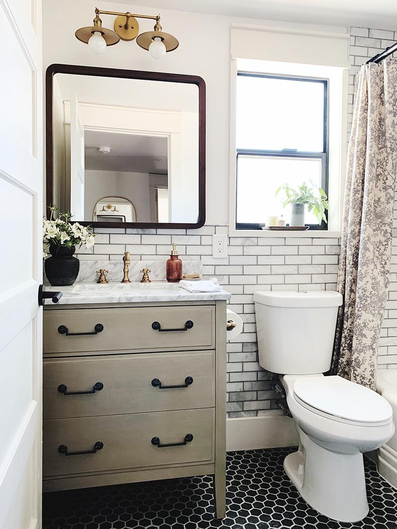 Evergreen House Guest Bathroom Reveal Juniper Home Add A Bathroom Guest Bathroom Evergreen House