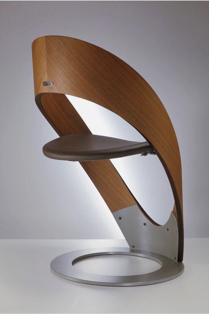 Wooden Modern and Contemporary Chair in Original Design Furniture - muebles en madera modernos