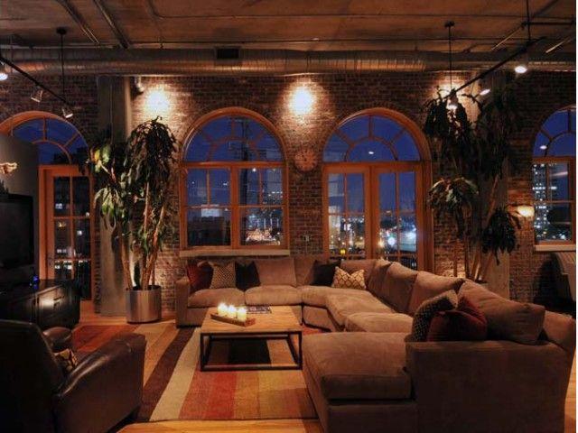 maison maison pinterest int rieur industriel et maisons. Black Bedroom Furniture Sets. Home Design Ideas