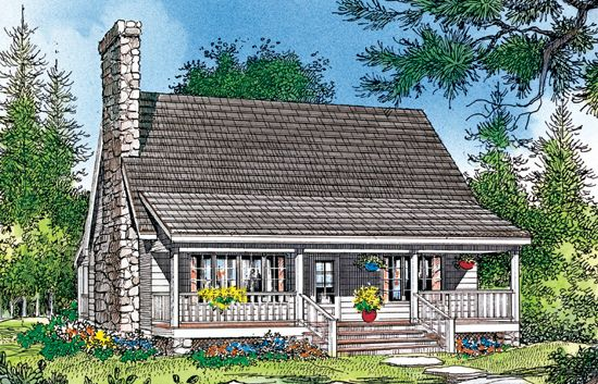 The Shady Grove House Plan Rustic House Plans House Plans Best Home Plans