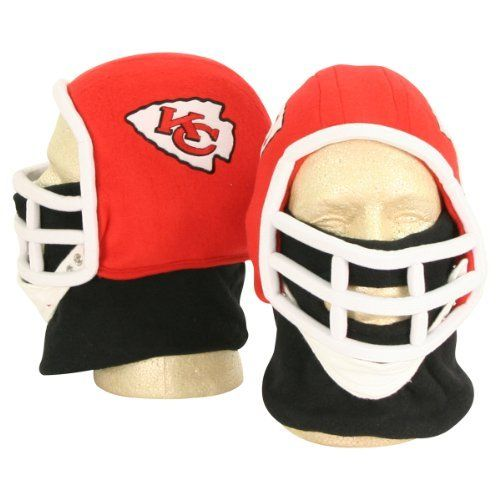 Kansas City Chiefs Football Helmet Winter Knit Hat (With Removable Neck  Gaiter) by NFL 10c426388