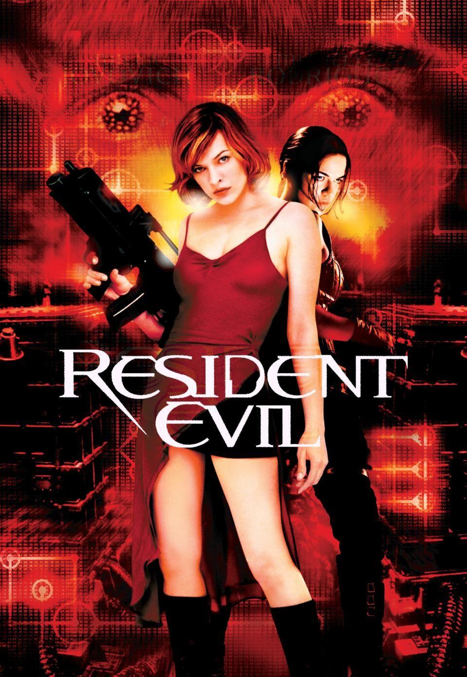 Resident Evil Movie Case Resident Evil Poster Art Resident Evil Movie Resident Evil Zombie Movies