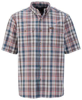 f6d9b52911f RedHead Workwear Plaid Shirts for Men - Ocean - XL