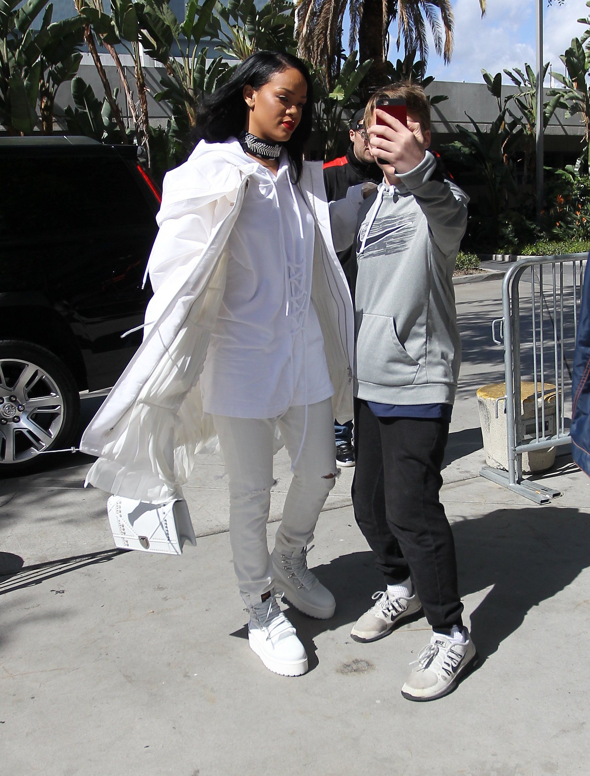 Rihanna Gives Winter White a Streetwise New Look