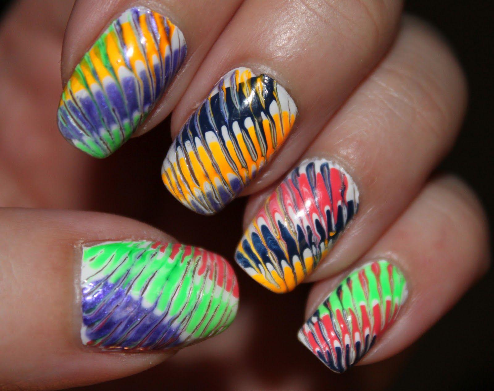 toothpick nail art nails
