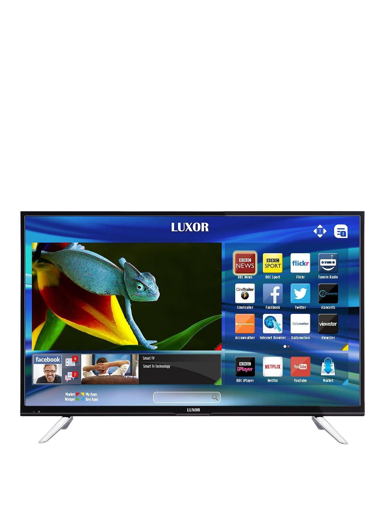 Enjoy incredible 4K Ultra HD and internet access with the unbeatable value  Luxor 55 inch Smart 7da721185b