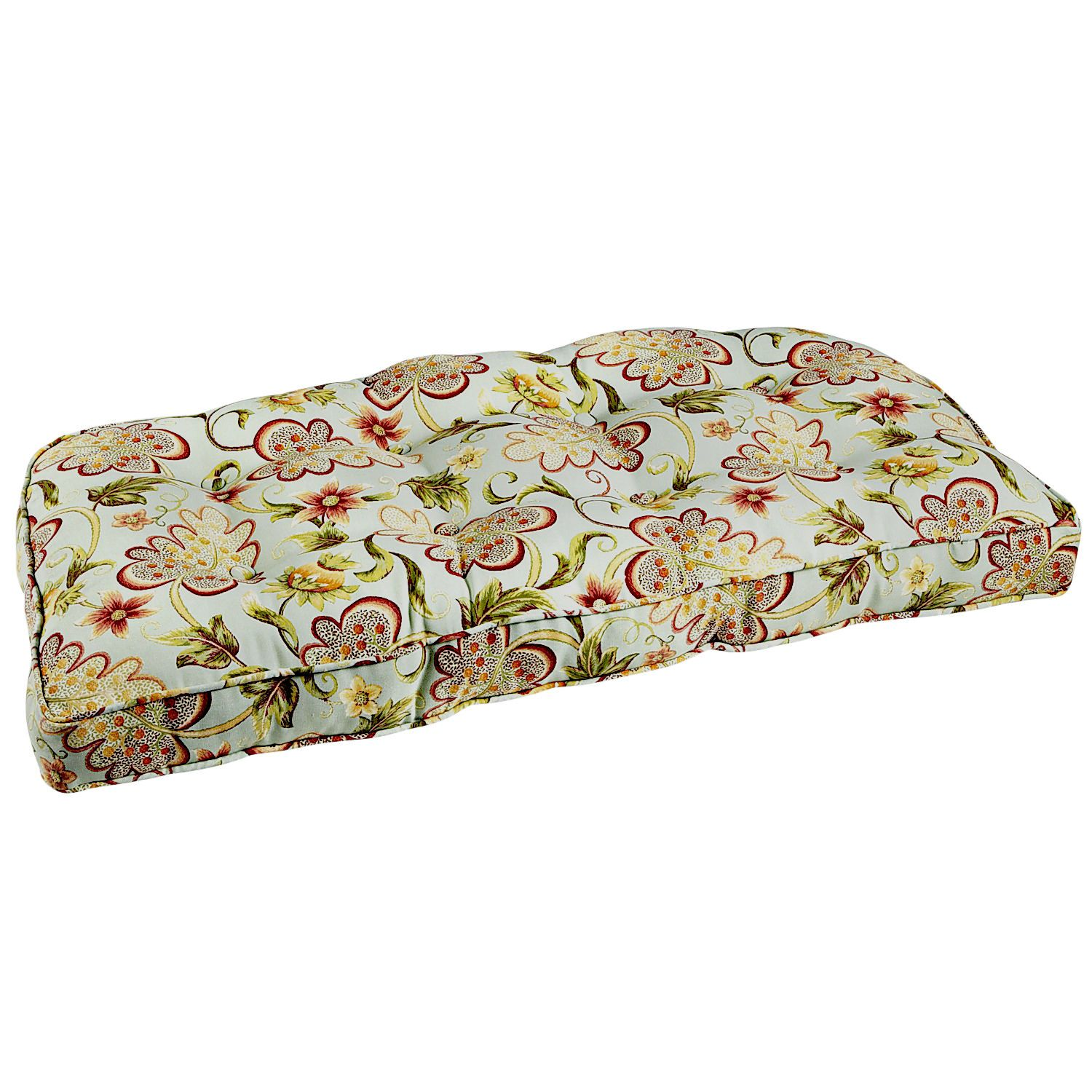 Angelique deluxe settee cushion pier 1 imports settee