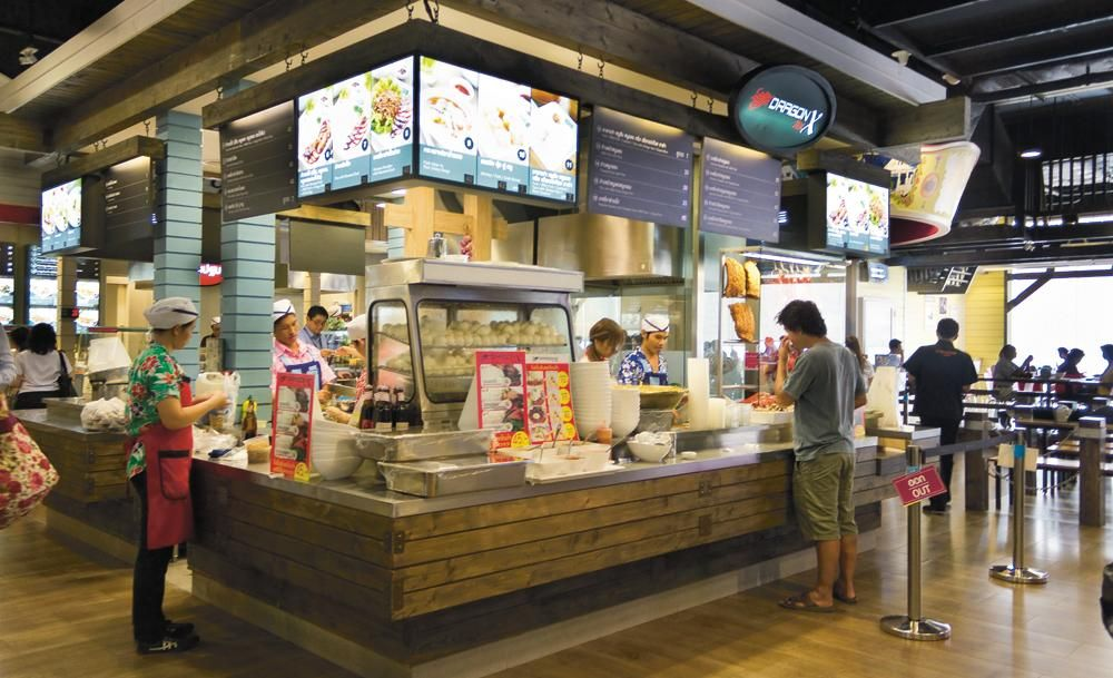 Bangkok S Best Food Courts Mall Food Court Food Court Bangkok Food