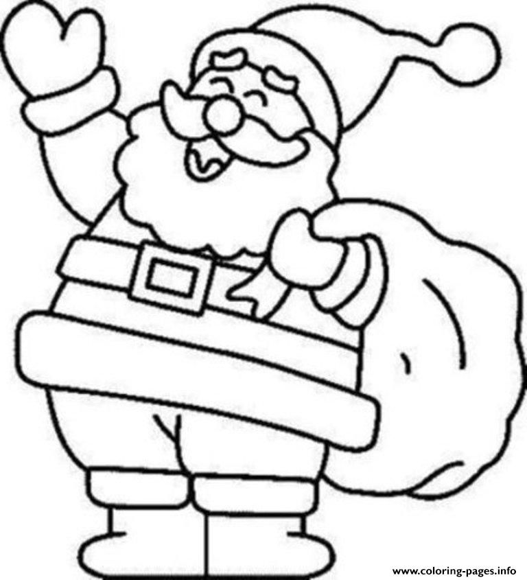 Pin On Free Christmas Coloring Pages For Adults Kids