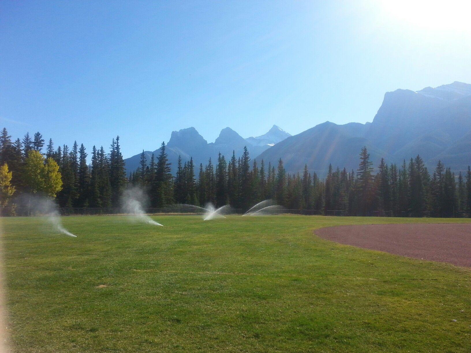 Fall sprinkler blowouts or sprinkler winterizing or