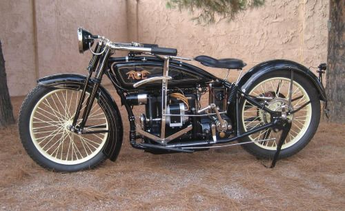 1922 Ace Motorcycle manufactured by the Ace Motor Corporation,...