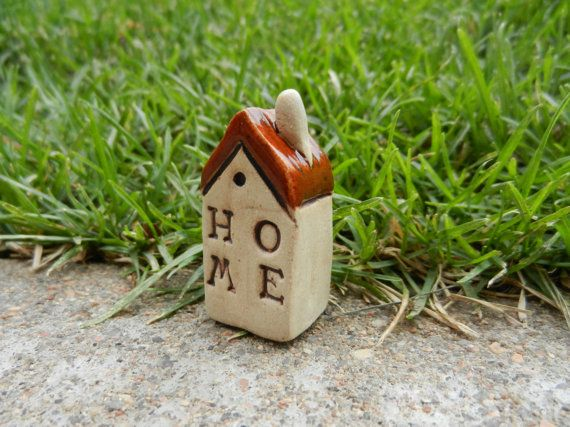 Hey, I found this really awesome Etsy listing at https://www.etsy.com/listing/186682052/clay-house-home-ceramic-houses-miniature