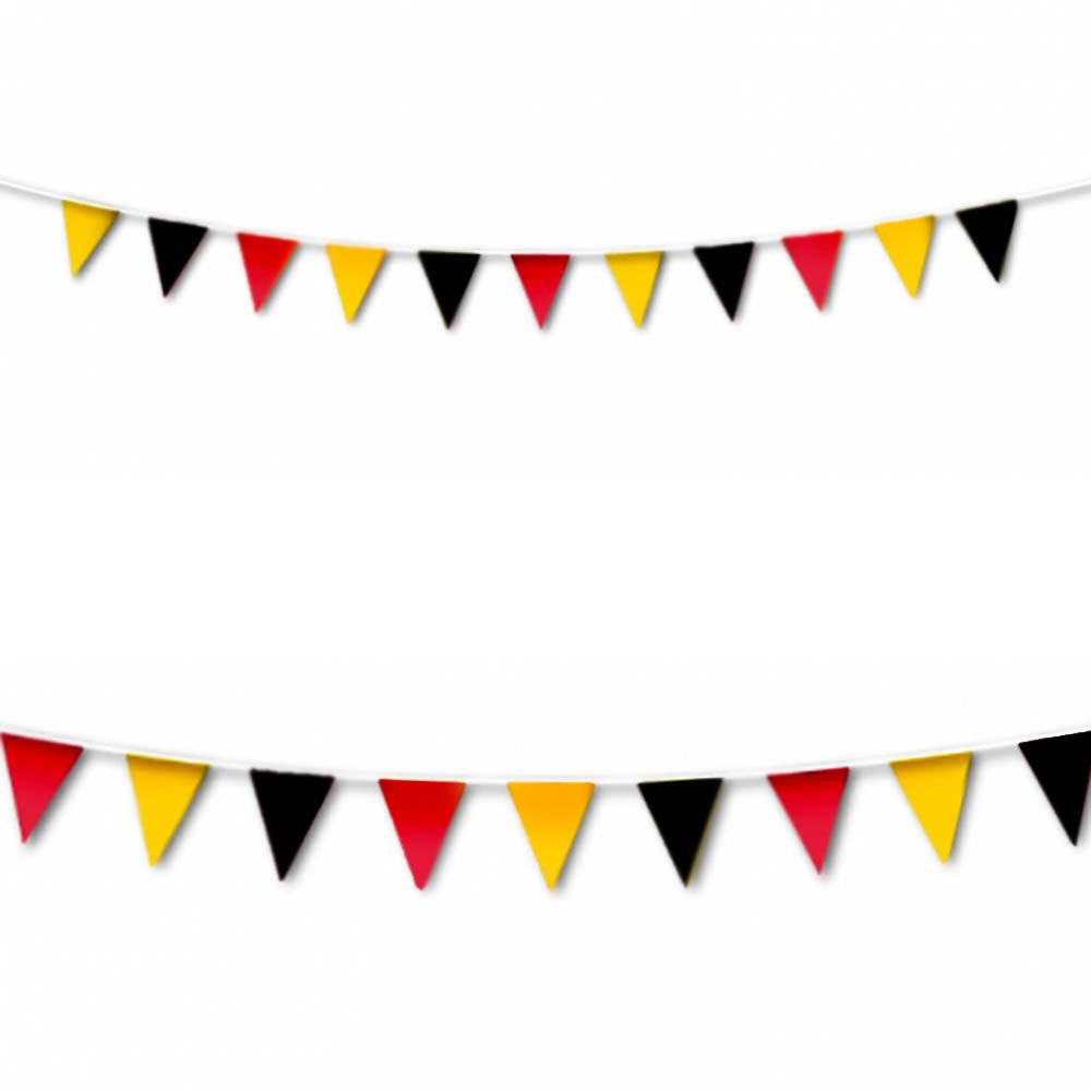 M Sports Germany RED YELLOW Pennant Banner Bunting Decoration