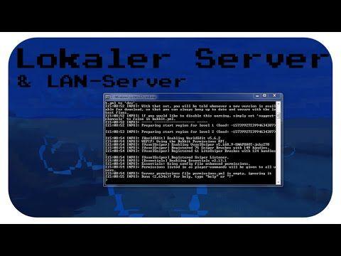 LokalenLAN Minecraft BukkitVanilla Server Erstellen Deutsch - Minecraft server erstellen bukkit