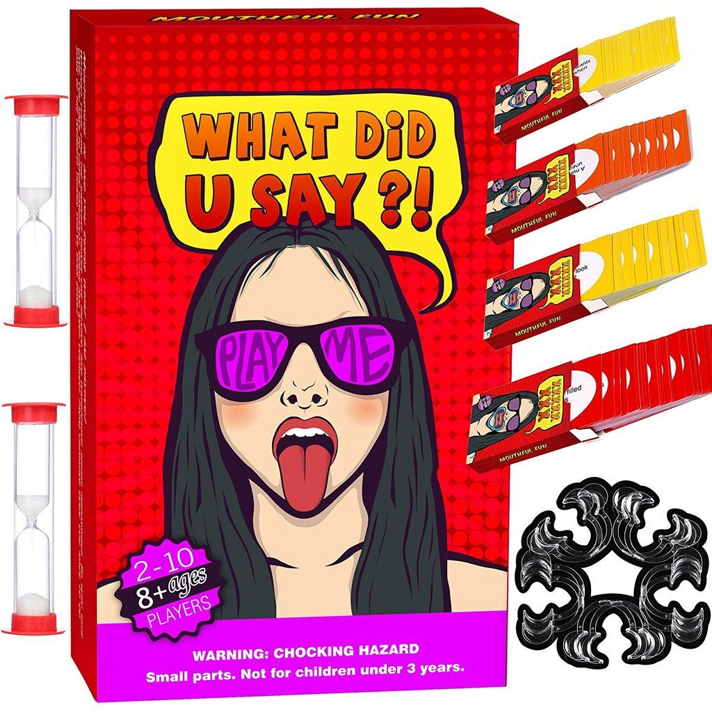 Mouthful Fun Crazy Party Mouth Guard Challenge Game for