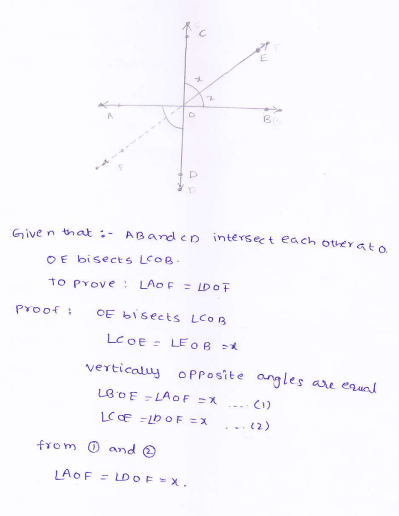 Rd Sharma Class 9 Maths Solutions Chapter 8 Lines And