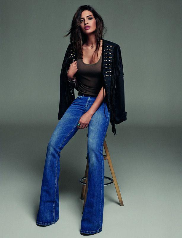 comprar últimas tendencias de 2019 venta caliente más nuevo Hablamos con Sara Carbonero | мода | Pantalones campana ...